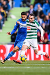 Anaitz Arbilla of SD Eibar (R) in action during the La Liga 2017-18 match between Getafe CF and SD Eibar at Coliseum Alfonso Perez Stadium on 09 December 2017 in Getafe, Spain. Photo by Diego Souto / Power Sport Images
