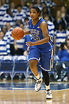 27 October 2013: Richa Jackson. The Duke University Blue Devils played their annual preseason Blue White women's college basketball game at Cameron Indoor Stadium in Durham, North Carolina.