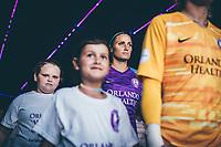 Orlando, FL - Wednesday September 11, 2019: Shelina Zadorsky , Orlando Pride vs  Chicago Red Stars at Exploria Stadium.