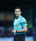 2nd December 2017, Global Energy Stadium, Dingwall, Scotland; Scottish Premiership football, Ross County versus Dundee; Referee Steven McLean