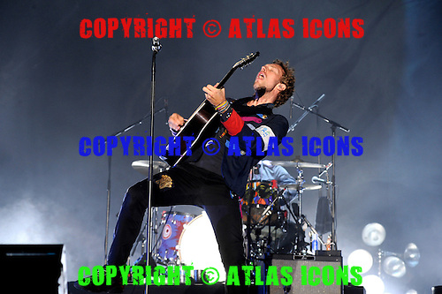 Coldplay, Performs At, In New York City,.Photo Credit: David Atlas/Atlas Icons.com
