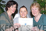 CULINARY: Helen Vicker (Firies), Patricia Teahan (Cromane) and Bridget McCarthy (Lixnaw) looking over the menu of the European Culinary Delights at the ITT on Thursday evening put on by their Master Chefs Liam McMahon and Thomas Kraus.   Copyright Kerry's Eye 2008