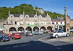 The Shambles and Market Place, Settle, Settle, North Yorkshire. England, UK