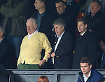 Ex-Rangers chairman Malcolm Murray watching on from the stand