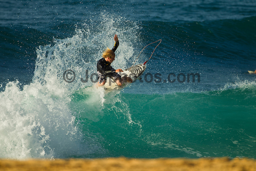 Haleiwa Hawaii, (Friday December 3, 2010) Chippa Wilson (AUS).    .Three to four foot north swell with strong North East Trade winds were the conditions for today's sessions at Off The Wall and Backdoor..Photo: joliphotos.com