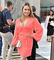 Ola Jordan attends Sony Music imprint Syco's summer party at Victoria and Albert Museum, London, UK, 4th July 2019.<br />  CAP/JOR<br /> ©JOR/Capital Pictures