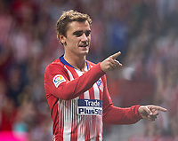 Antoine Griezmann of Atletico Madrid during the match between Atletico Madrid v SD Huesca of LaLiga, 2018-2019 season, date 6. Wanda Metropolitano Stadium. Madrid, Spain - 25 September 2018. Mandatory credit: Ana Marcos / PRESSINPHOTO