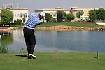 Danny Willett tees off on the par3 6th tee during Day 1 of the Dubai World Championship, Earth Course, Jumeirah Golf Estates, Dubai, 25th November 2010..(Picture Eoin Clarke/www.golffile.ie)