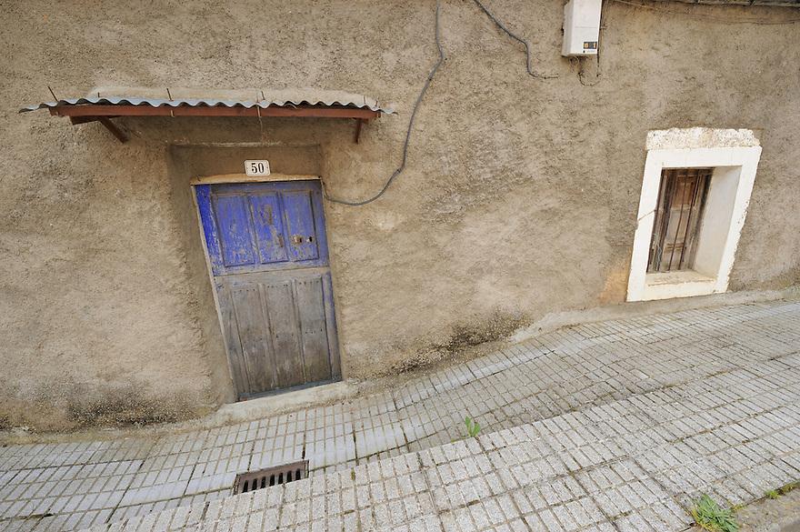 Land abandonment<br /> Martiago village, Salamanca Region, Castilla y Le&oacute;n, Spain
