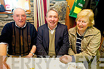 Radio Kerry were out to the Duagh Family Centre on Thursday afternoon to record and celebrate the winning of the North Kerry Championship and reminisce  over the last 50 years with club members.Tony Maher with Jim and Margaret Lyons.