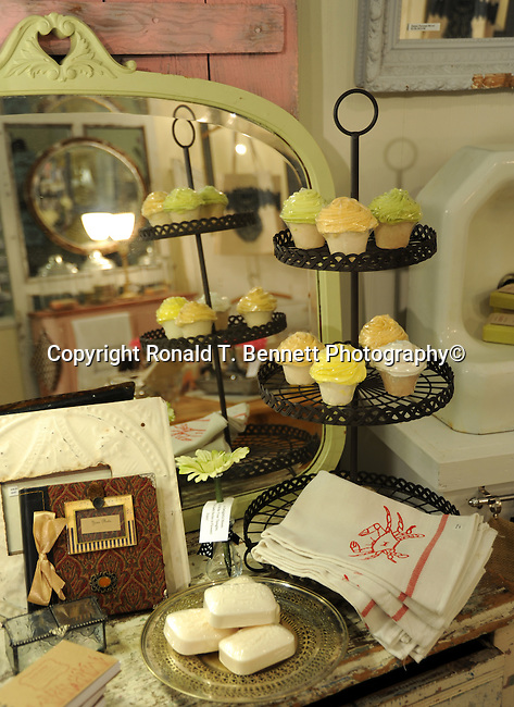 Cup cakes and mirror, soap, towels, mirror, Fine Art photography are photographs that are created to fulfill the creative vision of the photographer, Fine Art Photography by Ron Bennett, Fine Art, Fine Art photography, Art Photography, Copyright RonBennettPhotography.com ©