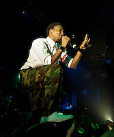 Lupe Fiasco performing at The Palace Theatre, Melbourne, 3 February 2010