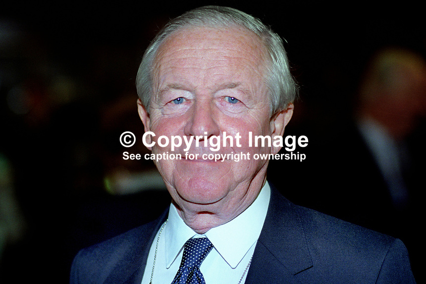 Sir Marcus Fox, MP, Conservative Party, UK, politician, 19921068MF.<br />