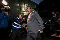 Leeds United manager Marcelo Bielsa steps off the coach at Deepdale Stadium<br /> <br /> Photographer Alex Dodd/CameraSport<br /> <br /> The EFL Sky Bet Championship - Preston North End v Leeds United - Tuesday 22nd October 2019 - Deepdale Stadium - Preston<br /> <br /> World Copyright © 2019 CameraSport. All rights reserved. 43 Linden Ave. Countesthorpe. Leicester. England. LE8 5PG - Tel: +44 (0) 116 277 4147 - admin@camerasport.com - www.camerasport.com