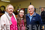 Attending the Moyderwell Grandparents day on Thursday morning last. L-r, Kathleen Wallace, Grace and Donie McCannon.