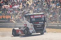 Monegasque driver Ellen Lohr belonging German team Truck Sport Lutz Bernau during the fist race R1 of the XXX Spain GP Camion of the FIA European Truck Racing Championship 2016 in Madrid. October 01, 2016. (ALTERPHOTOS/Rodrigo Jimenez) /NortePHOTO /NORTEPHOTO.COM