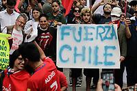 23.10.2019 - Ato em apoio à revolta popular no Chile