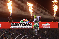 Scenes from the 2013 Daytona Supercross, Daytona International Speedway, Daytona Beach, FL, March 2013.  (Photo by Brian Cleary/www.bcpix.com)  Scenes from the 2013 Daytona Supercross, Daytona International Speedway, Daytona Beach, FL, March 2013.  (Photo by Brian Cleary/www.bcpix.com)
