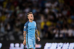 Manchester City Angelino Tesende reacts during the match against Borussia Dortmund at the 2016 International Champions Cup China match at the Shenzhen Stadium on 28 July 2016 in Shenzhen, China. Photo by Victor Fraile / Power Sport Images