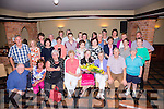 Mary Cournane seated front centre with friends & colleagues at her retirement do in the Kerry Cost Hotel on Friday night.