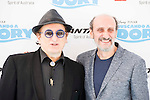 """Javier Gurruchaga and Jose Luis Gil attends to the morning premiere of the film """"Buscando a Dory"""" at Cines Kinepolis in Madrid. June 19. 2016. (ALTERPHOTOS/Borja B.Hojas)"""