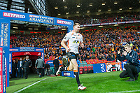 Picture by Allan McKenzie/SWpix.com - 07/10/2017 - Rugby League - Betfred Super League Grand Final - Castleford Tigers v Leeds Rhinos - Old Trafford, Manchester, England - The brief, Michael Shenton warms up.