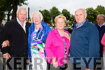 l-r John Sexton, Peg Kelly, Catherine Quirke and Pat Quirke from Tralee at the Radio Kerry All Irish Music Concert in the Brandon Hotel on Monday