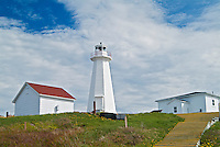 Lighthouses on most easterly point in North America<br /> Cape Spear National Historic Site of Canada<br /> Newfoundland <br /> Canada