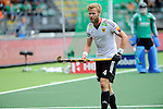 The Hague, Netherlands, June 15: Maximilian Mueller #4 of Germany looks on during the field hockey placement match (Men - Place 5th/6th) between Belgium and Germany on June 15, 2014 during the World Cup 2014 at Kyocera Stadium in The Hague, Netherlands. Final score 4-2 (1-1)  (Photo by Dirk Markgraf / www.265-images.com) *** Local caption ***