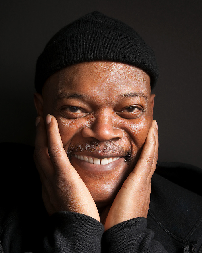 Samuel Jackson photographed at the Sundance Film Festival for 'Art & Soul'