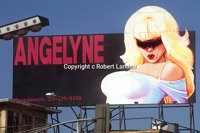 Angelyne billboard 1990s