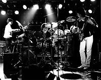 Undated File Photo circa 1983 - Montreal, Quebec, CANADA - UZEB in concert
