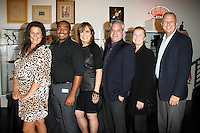 WEST HOLLYWOOD - SEP 21: Kathleen Cahill, Emmanuel Freeman, Linda Gray, Stuart Berkovitz, Meg Thomas, Keith McNutt at a screening of 'Wally's Will' with Linda Gray to benefit The Actors Fund at a Julien's Auctions on September 21, 2016 in West Hollywood, California