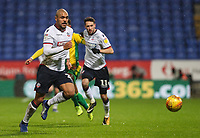 Bolton Wanderers' Josh Magennis<br /> <br /> Photographer Andrew Kearns/CameraSport<br /> <br /> The EFL Sky Bet Championship - Bolton Wanderers v West Bromwich Albion - Monday 21st January 2019 - University of Bolton Stadium - Bolton<br /> <br /> World Copyright © 2019 CameraSport. All rights reserved. 43 Linden Ave. Countesthorpe. Leicester. England. LE8 5PG - Tel: +44 (0) 116 277 4147 - admin@camerasport.com - www.camerasport.com