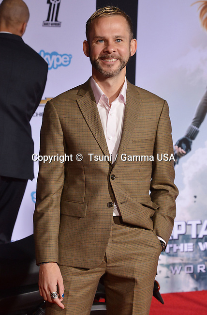 Dominic Monaghan 271 arriving at the Captain America Premiere at the El Capitan Theatre in Los Angeles.