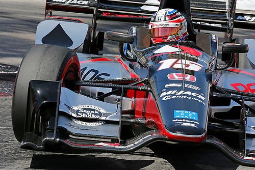 2017 Verizon IndyCar Series<br /> Toyota Grand Prix of Long Beach<br /> Streets of Long Beach, CA USA<br /> Friday 7 April 2017<br /> Graham Rahal<br /> World Copyright: Perry Nelson/LAT Images<br /> ref: Digital Image nelson_lb_0409_0743