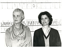 Madeleine Ryan, epouse de Claude RYAN ,1979<br /> (date exacte inconnue)<br /> PHOTO :  Agence Quebec Presse