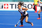 Shihori Oikawa (JPN), <br /> AUGUST 21, 2018 - Hockey : <br /> Women's Group A match <br /> between Japan 6-0 Hong Kong <br /> at Gelora Bung Karno Hockey Field <br /> during the 2018 Jakarta Palembang Asian Games <br /> in Jakarta, Indonesia. <br /> (Photo by Naoki Morita/AFLO SPORT)