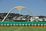 General View,<br /> AUGUST 5, 2016 - Archery : <br /> Men's Individual Ranking Round <br /> at Sambodromo<br /> during the Rio 2016 Olympic Games in Rio de Janeiro, Brazil. <br /> (Photo by Koji Aoki/AFLO SPORT)