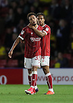 Bristol City's Freddie Hinds celebrates scoring his sides opening goal during the Carabao cup match at Vicarage Road Stadium, Watford. Picture date 22nd August 2017. Picture credit should read: David Klein/Sportimage