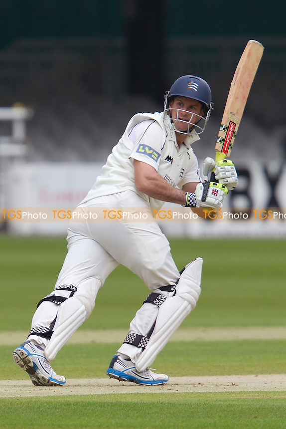 Andrew Strauss, Middlesex CCC glances for four - Middlesex CCC vs Worcestershire CCC - LV County Championship Division One Cricket at Lords Ground, St Johns Wood, London - 04/05/12 - MANDATORY CREDIT: Ray Lawrence/TGSPHOTO - Self billing applies where appropriate - 0845 094 6026 - contact@tgsphoto.co.uk - NO UNPAID USE.