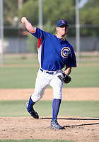 Chris Huseby / AZL Cubs pitching against the AZL Rangers at Fitch Park, Mesa - 07/31/2008..Photo by:  Bill Mitchell/Four Seam Images
