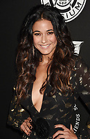 SANTA MONICA, CA - JANUARY 06: Actress Emmanuelle Chriqui arrives at the The Art Of Elysium's 11th Annual Celebration - Heaven at Barker Hangar on January 6, 2018 in Santa Monica, California.<br /> CAP/ROT/TM<br /> &copy;TM/ROT/Capital Pictures