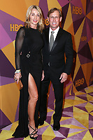 BEVERLY HILLS, CA - JANUARY 7: Nadia Comaneci and Bart Conner at the HBO Golden Globes After Party at the Beverly Hilton in Beverly Hills, California on January 7, 2018. <br /> CAP/MPI/FS<br /> &copy;FS/MPI/Capital Pictures