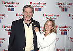 Nick Wyman & Paige Price attending the 'Broadway Salutes' honoring those who make Broadway Great at the Timers Square Visitors Center in Times Square,  New York City on 9/20/2012.