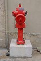 Lisbon, Portugal. 21.03.2015. Fire hydrant in the Alfama district of Lisbon. © Jane Hobson.