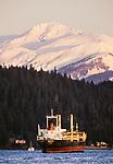 Freighter, Juneau, Alaska
