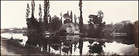 BNPS.co.uk (01202 558833)<br /> Pic: Bonhams/BNPS<br /> <br /> Prout's picture of Iffley Mill outside Oxford. <br /> <br /> 'Old man river, he just keeps rollin' - A remarkable collection of panoramic photographs of the Thames taken 160 years ago have emerged for auction, and they reveal how little the famous old river has changed in the last century and a half.<br /> <br /> They follow the river from London to Oxford in 40 photographs providing a fascinating insight into how the famous river looked in the mid-19th century.<br /> <br /> Londoner Victor Prout started photographing the Thames in 1857 using a camera which would produce wide-vision images because of a lens that swung round and 'scanned' sections of the picture.<br /> <br /> This rare complete copy of the first edition of Prout's pioneering panoramics has emerged for auction and is tipped to sell for &pound;12,000 when they go under the hammer at Bonhams on March 1.