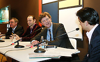 20-2-06, Netherlands, tennis, Rotterdam, ABNAMROWTT, Panel discussion about topsport