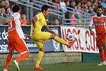 02 May 2015: Tampa Bay's Georgi Hristov (BUL) juggles the ball. The Carolina RailHawks hosted the Tampa Bay Rowdies at WakeMed Stadium in Cary, North Carolina in a North American Soccer League 2015 Spring Season match. The game ended in a 1-1 tie.
